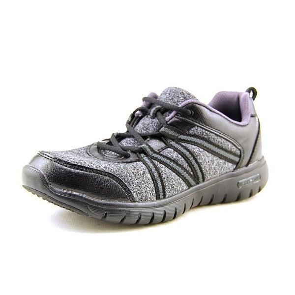Propet Tami Women W Round Toe Canvas Black Sneakers
