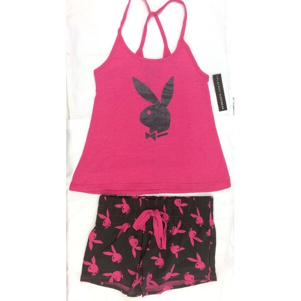 Shop Playboy Pajama Set Top and Bottom - Free Shipping On Orders Over  45 -  Overstock - 18302433 7e94b1891