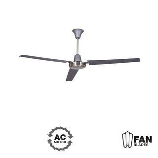 """Ellington Fans Utility Modern 56"""" 3 Blade Indoor Ceiling Fan - Blades Included (2 options available)"""