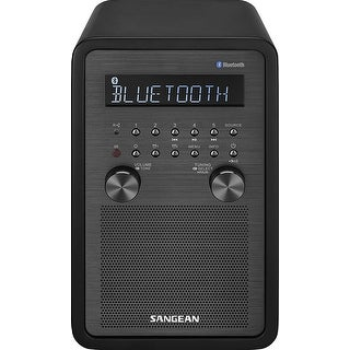 Sangean Wr-50 Fm-Rbds/Am/Bluetooth Wood Cabinet Table Top Radio