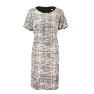 Tommy Hilfiger Women's London Tweed Shift Dress - Black/multi