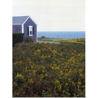 """""""House and open field"""" Poster Print"""