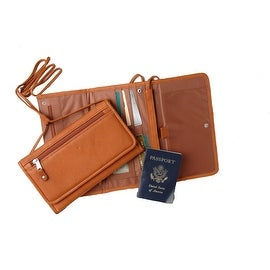 Clay Leather Travel Wallet by Canyon Outback Leather