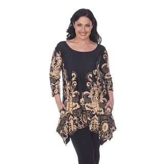Link to White Mark Women's Plus Size 'Yanette' Tunic Top Similar Items in Intimates