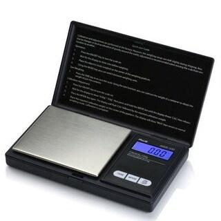 Aws Aws-100 Digital Pocket Scale - 3.53 Oz / 100 G Maximum Weight Capacity - Stainless Steel - Black
