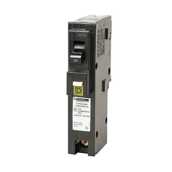 Square D HOM120PCAFIC Homeline Single Pole CAFCI Circuit Breaker