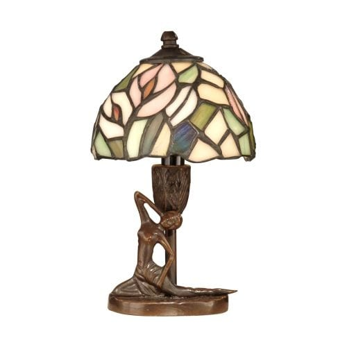 Dale Tiffany TA10607 Tiffany Lady Accent Lamp with 1 Light