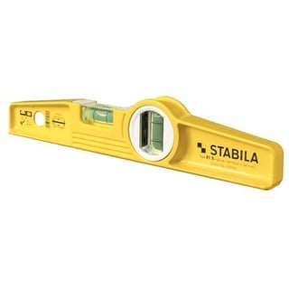 Stabila 25100 Magnetic Super Torpedo Level, Aluminum, 10""