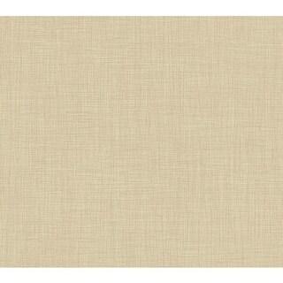 York Wallcoverings KB8673 Linen Wallpaper - N/A
