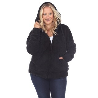 Link to White Mark Women's Plus Size Sherpa Jacket Similar Items in Jackets