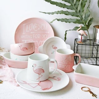G Home Collection Flamingo Tableware