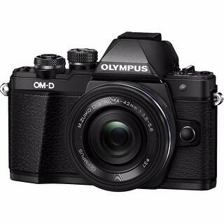 Olympus OM-D E-M10 Mark II with 14-42mm IIR Lens (Black)