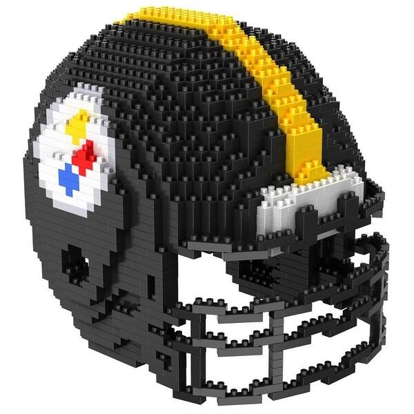Pittsburgh Steelers 3D NFL BRXLZ Bricks Puzzle Team Helmet