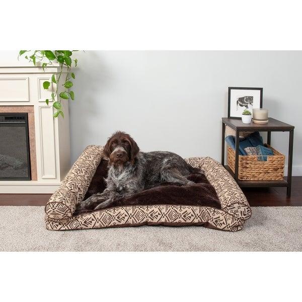 FurHaven Pet Bed   Southwest Kilim Pillow Sofa Dog Bed. Opens flyout.