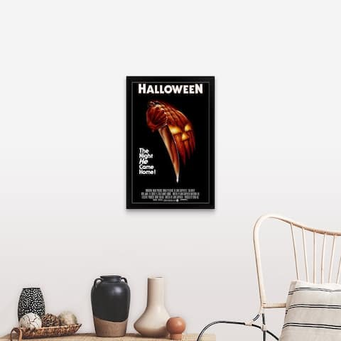 """Halloween (1978)"" Black Framed Print"