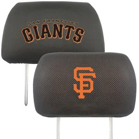 San Francisco Giants Headrest Covers FanMats