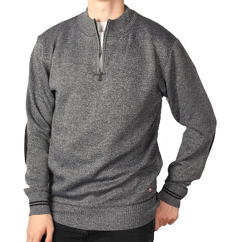 Ecko Unltd. Young Men's Marled 1/4 Zip Sweater