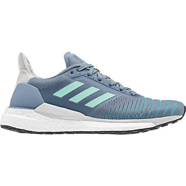 new products b61e2 58054 Shop adidas Womens Solar Glide Running Shoe Raw GreyClear MintHi-Res  Aqua - Free Shipping Today - Overstock - 25558722