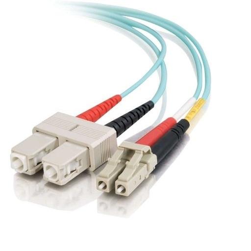 C2g - 7M Lc-Sc 10Gb 50/125 Mm Om3 Fiber Cable