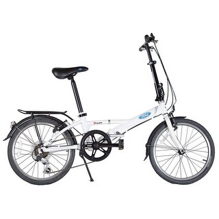 Ford by Dahon Muon White 7-Speed Folding Bicycle