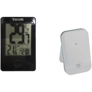 TAYLOR 1730 Indoor/Outdoor Digital Thermometer with Remote