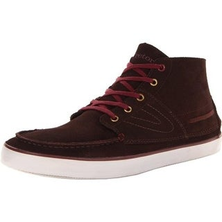 Tretorn Mens Otto Suede Contrast Trim Boat Shoes