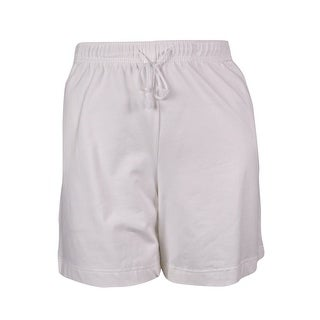 Karen Scott Women's Casual Elastic Waist Shorts