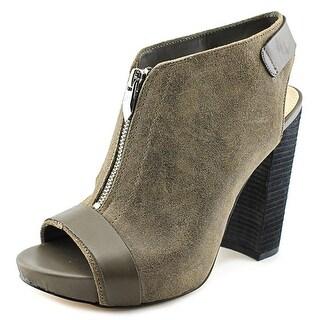 Fergie Rowley Women Open Toe Leather Platform Heel