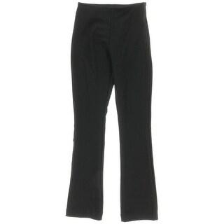 Aqua Womens Capsule Solid Side Zip Pants