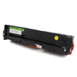 Monoprice Compatible HP CF212A Laser Toner Yellow For use in Laserjet Pro 200 Color M251n Color M276n M251nw M276nw