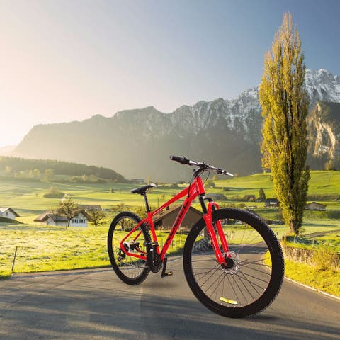 AOOLIVE Road Bike 29 Inch Aluminum Alloy Mountain Bike - 8' x 11'