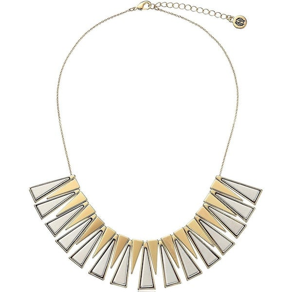 House of Harlow by Nicole Richie Womens Trapezio Collar Necklace Two-Tone - GOLD