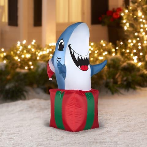 Airblown-Shark in Giftbox-SM