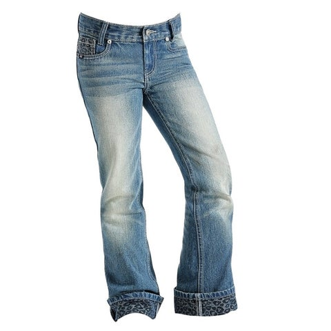 Cruel Girl Western Denim Jeans Girl Hadley Reg Fit Lt