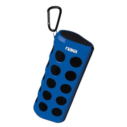 Naxa Wireless Sports Stereo Speaker with Bluetooth?- Blue