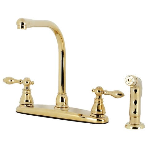 American Classic Centerset Kitchen Faucet with Side Sprayer