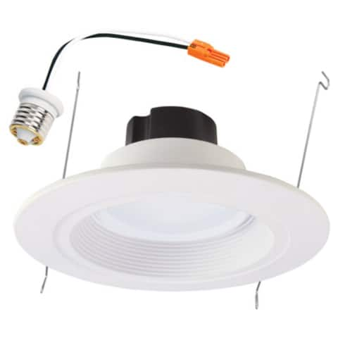 "Halo RL560WH6930R LED Air-Tite Retrofit Integrated Light Engine,Baffle Trim,5""/6"""