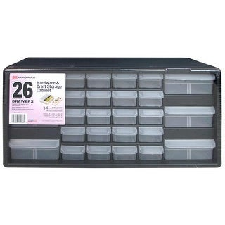 Akro-Mils Craft Center Organizer 26 Drawer Bl/Gry