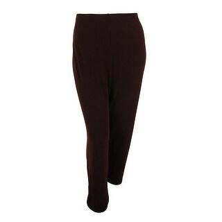 Alfani Women's Wide Leg Jersey Pants