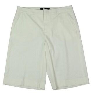 Kobi Halperin NEW White Ivory Womens Size 2 Bermuda Walking Shorts
