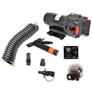 """Johnson Pump Aqua Jet WD 3.5 GPM, 12V Pump Kit Aqua Jet WD"""