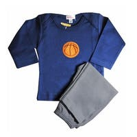 Loralin Design BNK12 Basketball Outfit - Blue  12-18 Months