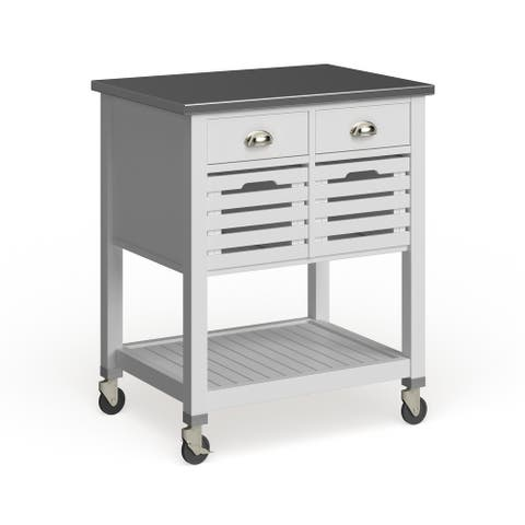 The Gray Barn Winfield Kitchen Cart