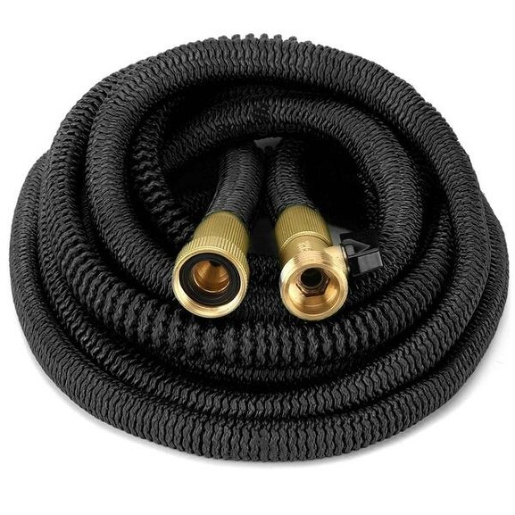 Attrayant Shop ALL NEW 2017 Heavy Duty Expandable Garden Hose Set 75 Feet   On Sale    Free Shipping Today   Overstock   13330264