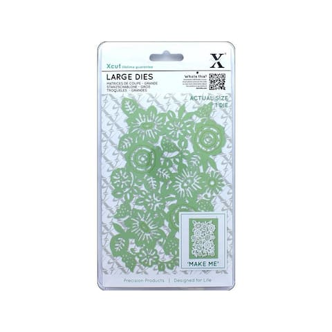 Xcu 504027 docrafts xcut die large floral panel