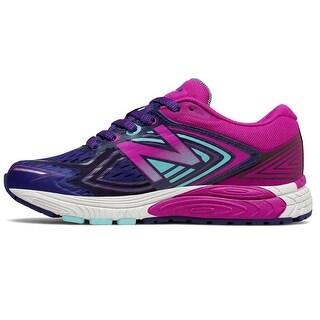 Kids New Balance Girls KJ860NPY Low Top Lace Up Running Sneaker - 6 2e