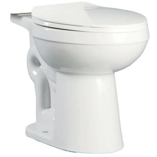 Proflo PF1400T Round-Front Universal Toilet Bowl Only