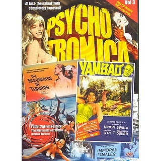 Psychotronica Double Feature #3: The Mermaids of Tiburon/Yambao: Cry of the Bewitched - DVD