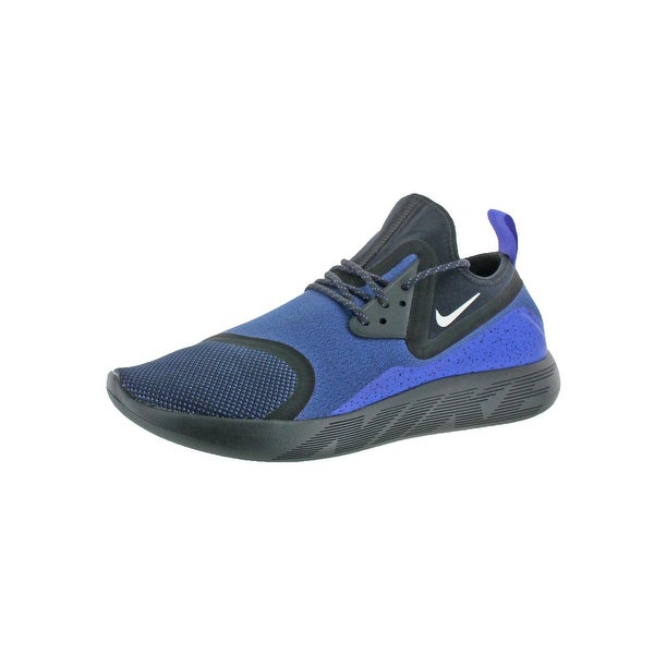 b6e1020ff8fe Shop Nike Mens Lunarcharge Essential Running Shoes Round Toe ...