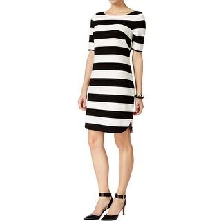 Jessica Howard Womens Petites Casual Dress Textured Boatneck - 6P